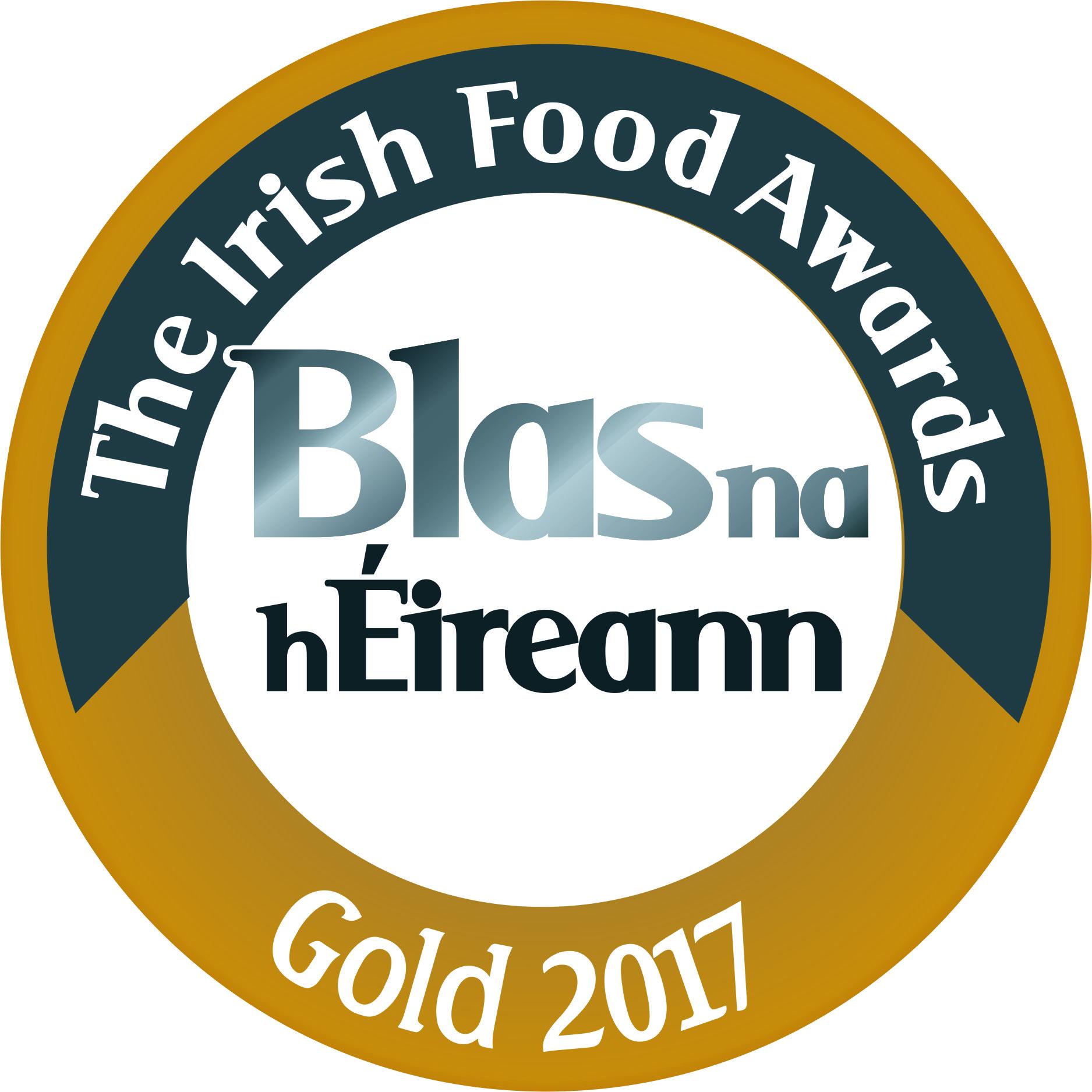 The Irish Food Awards – Gold 2017