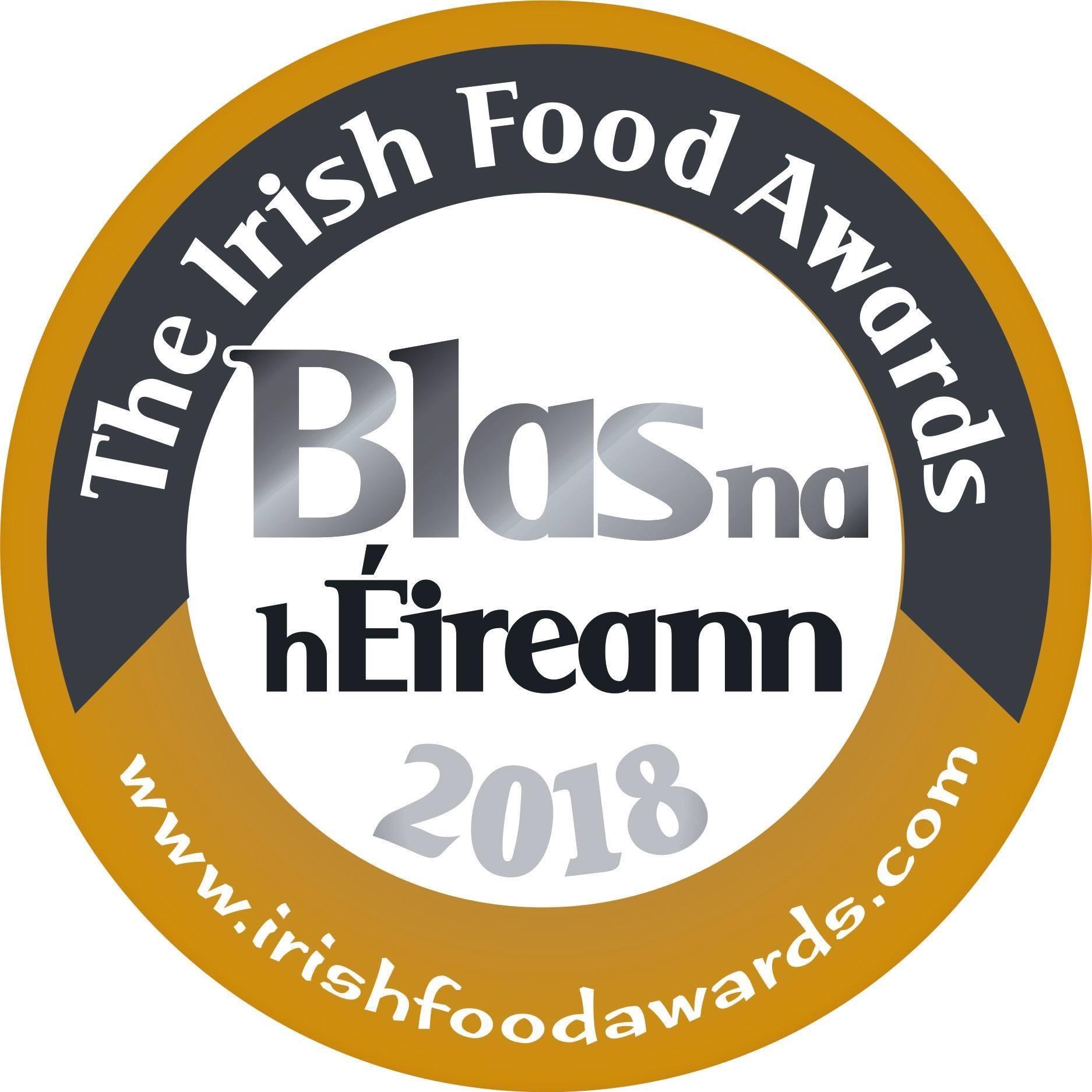 The Irish Food Awards - Gold 2018
