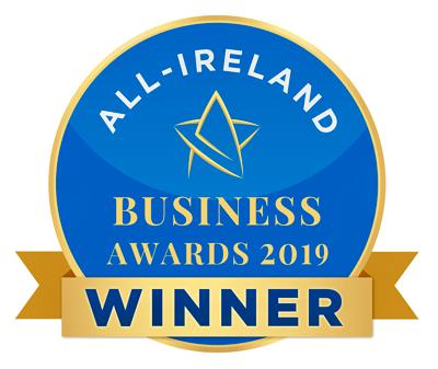 All Ireland Business Awards Winner – 2019